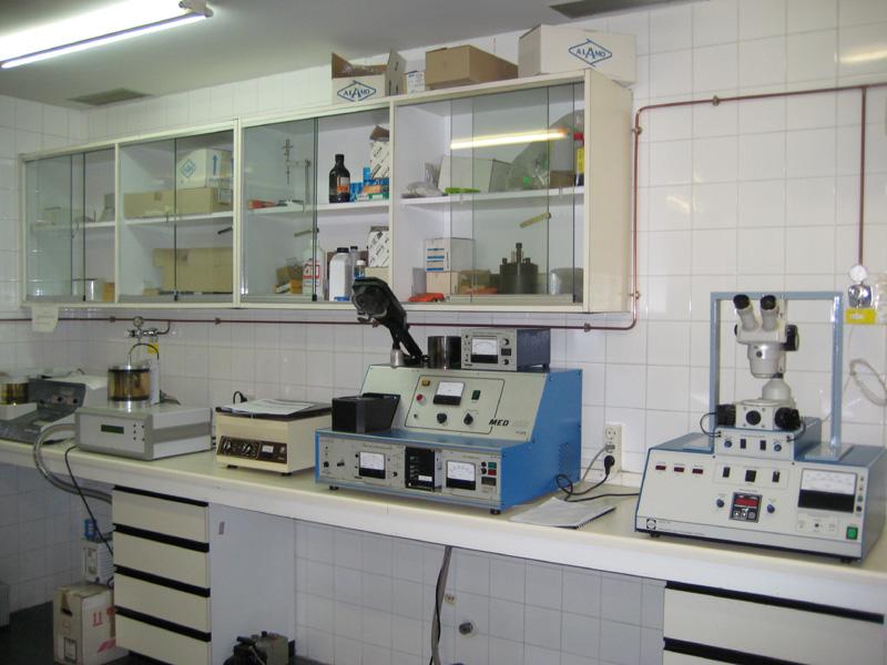 Laboratorio de preparación de muestras