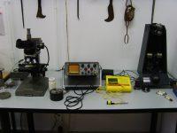 Equipo de ultrasonidos para examen de defectos
